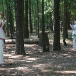 karate bootcamp sword practice