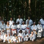 karate bootcamp group photo